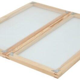 bijenhof simplex raamafdekking glas