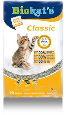 Kattenbak vulling Biokat 20 L