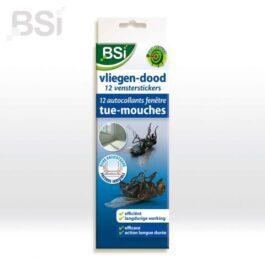 BSI  Vliegen-Dood venstersticker