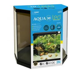 Aquarium aqua 30 led  40x20x45,5CM