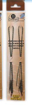Freedom Safety Liquid Wire & Quick Change swivel – 2pcs – 75 cm