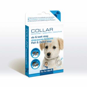 Halsband hond: vlo & teek stop
