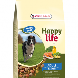 Happy Life Adult zalm 3 of 15 kg