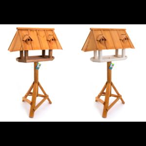 Vogelhuis Jumbo houten dak