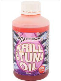 Bait tech krill & tuna oil 500 ml