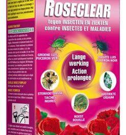 KB Roseclear bestrijdt insecten en ziekten op rozen