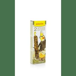Benelux sticks grote parkiet noten / banaan