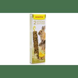 Benelux sticks XXL konijn noten / banaan