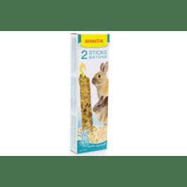 Benelux sticks XXL konijn popcorn / rijst