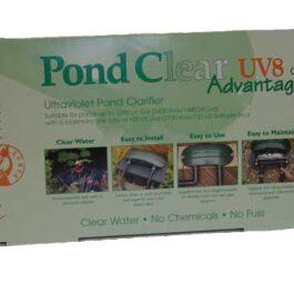 TMC pond clear 8 w