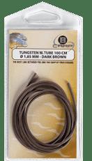 B-Carp Tungsten Weighted Silicon Tube 1 m – Ø 1,85 – Brown