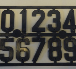 bijenhof  pvc nummers