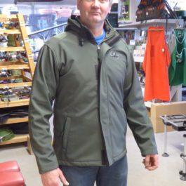 B carp soft shell jacket