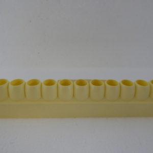 bijenhof barette de cellules geel