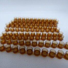 bijenhof barette de cellules bruin 10 st
