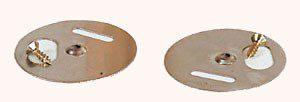 bijenhof vlieggat draaibaar inox 5 cm