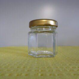 Bijenhof hexonaal 50 x pot 50 gr