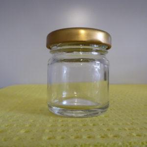 Bijenhof ronde bokaal   50 gr
