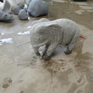 granieten olifant klein