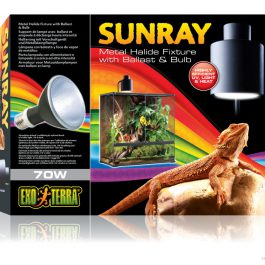 Sunray Metaaldamp lamp-unit incl. lamp 70 W