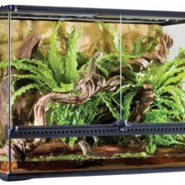 Terrarium incl. Achterwand 90 x 45 x 60 cm