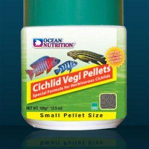 Ocean nutrition Cichlid vegi pellet small