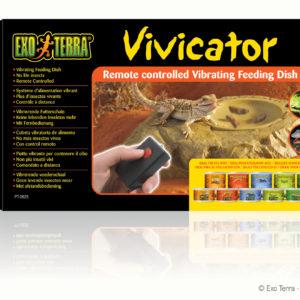 Exo Terra Vivicator vibrerende voederschaal
