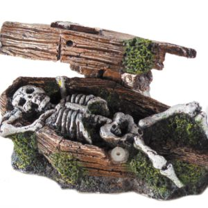 Coffin w. skeleton actionary