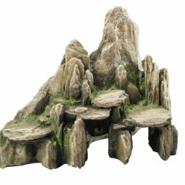 Deco Stone with moss XL