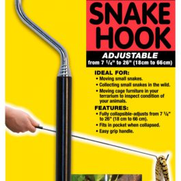 Adjustable snake hook