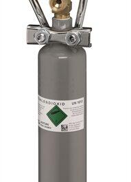 Eheim CO2 fles navulbaar 500 gr.