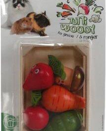 Groenten kist hout