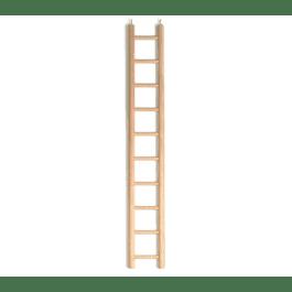 Ladder hout 10 treden groot