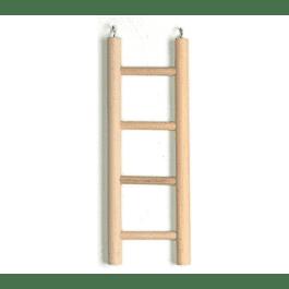 Ladder hout 4 treden groot