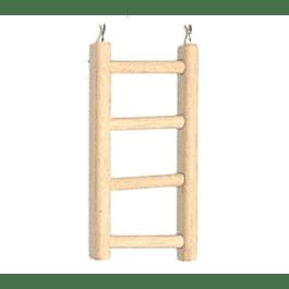 Ladder hout 4 treden klein