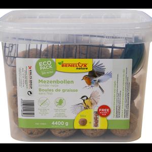 Mezenbollen 50 st zonder net met houder