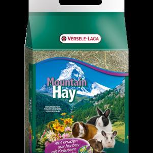 Mountain hay + kruiden 500 gr