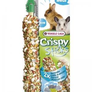 Crispy mega stick konijn/chinchilla bergvallei