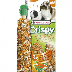 Crispy stick konijn/cavia wortel + peterselie