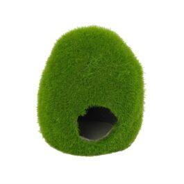 Mossy hole M   10.3 x 9.6 x 10.4 cm