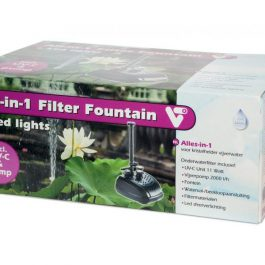 All in 1 filter Fountain