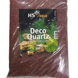 Deco quartz 2-3 mm Aarde rood 4 Kg