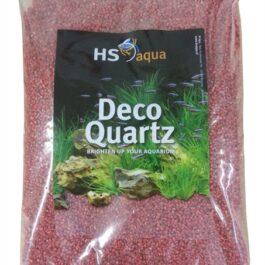 Deco quartz 2-3 mm Rood 4 Kg