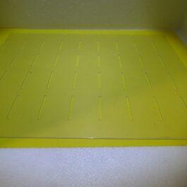 Kieler pvc afdekplaatje met gleufjes