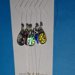 5 Trout spinner blades color