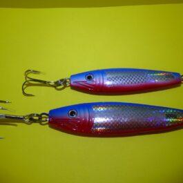 Nordic pilker LF 64 rood/blauw
