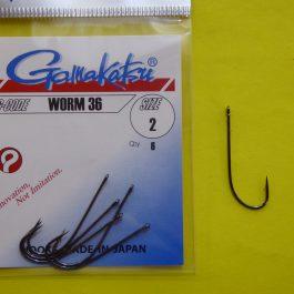 Gamakatsu Worm 36 (6 st)