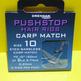 "Dre: Pushstop hair rigs ""carp match"""
