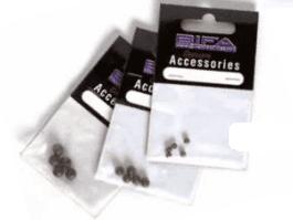 Flexi rubber beads