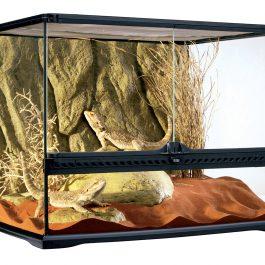 Terrarium incl. Achterwand 60 x 45 x 45 cm